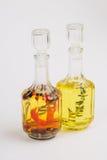 Olja- och matingredienser arkivbild