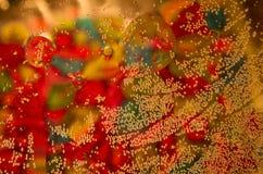 Olja och vatten Royaltyfria Bilder