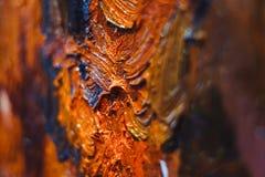 Olja på målningen Arkivfoton