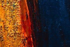 Olja på målningen Royaltyfri Bild