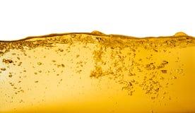 Olja på vit royaltyfri bild