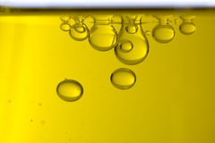 Olja tappar makro arkivfoton