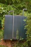 Olje- behållare för uppvärmning Fotografering för Bildbyråer