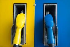 Olje- bensinstation Arkivfoton