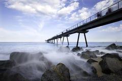 Olje- bro Arkivfoton