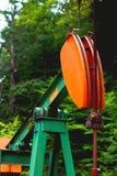 Olje- Derek av den Pennsylvania skogen Arkivbild