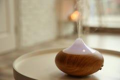 Olje- diffusor för arom royaltyfria foton