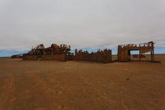 Olje- extraktionstation Royaltyfria Bilder