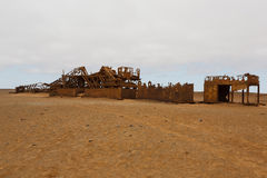 Olje- extraktionstation Royaltyfri Foto