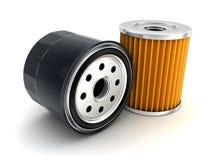 Olje- filter för bil vektor illustrationer