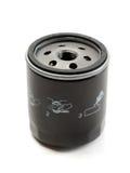 Olje- filter för svart bil Royaltyfri Bild