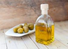 Olje- flaska Royaltyfri Foto