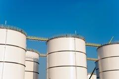 Olje- lagring arkivbild