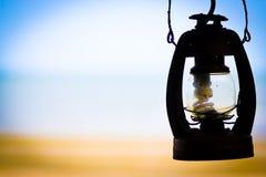 Olje- lampa Arkivbilder