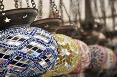 Olje- lampa för turk. Arkivfoton