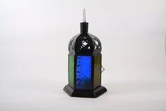Olje- lampa med kristaller Royaltyfri Fotografi