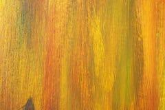 Olje- målarfärg för abstrakt Grunge på det Wood brädet Royaltyfri Bild