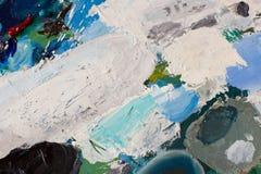 Olje- målarfärger Arkivbilder