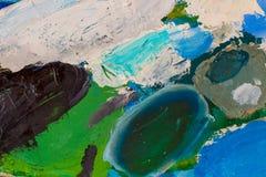 Olje- målarfärger Royaltyfria Foton
