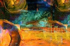 Olje- målning royaltyfri bild
