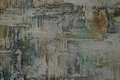 Olje- målning för textur Arkivfoto
