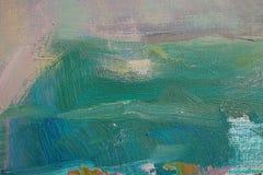 Olje- målning för textur Arkivbilder