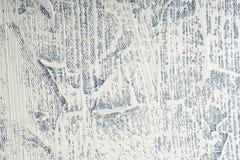 Olje- målning för textur abstrakt konstbakgrund Olja på kanfas Grova penseldrag av målarfärg Royaltyfri Bild