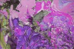 Olje- målning, konstnär Roman Nogin, serie`-kvinnors samtal `, Arkivbild