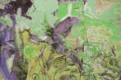 Olje- målning, konstnär Roman Nogin, serie`-kvinnors samtal `, Royaltyfri Bild