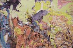 Olje- målning, konstnär Roman Nogin, serie`-kvinnors samtal `, Arkivbilder