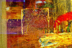 Olje- målning Arkivbilder