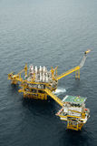 Olje- och gasa riggen Royaltyfria Foton