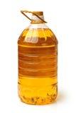 Olje- plast- för flaska Arkivbilder