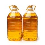 Olje- plast- för flaska Fotografering för Bildbyråer