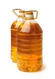 Olje- plast- för flaska Royaltyfria Bilder