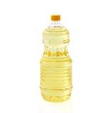 Olje- plast- stort för flaska Royaltyfri Foto