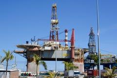 Olje- plattform, Tenerife Royaltyfri Foto