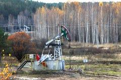 Olje- pump Royaltyfri Bild