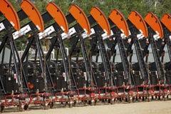 Olje- pumpar i Alberta Royaltyfri Fotografi