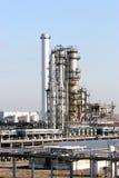 Olje- rafinery royaltyfria foton