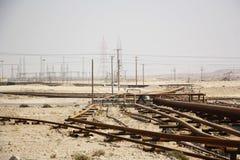 Olje- rörledningar Fotografering för Bildbyråer