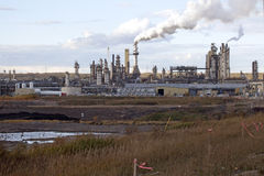 Olje- sander, Alberta, Kanada royaltyfri bild
