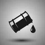 Olje- symbol Fotografering för Bildbyråer