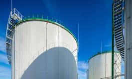 Olje- terminal, lagring och infrastruktur, rörledningar Arkivbilder