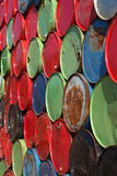 Olje- trummor Royaltyfri Bild