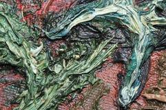 Oljemålningar. Textur. Arkivfoto