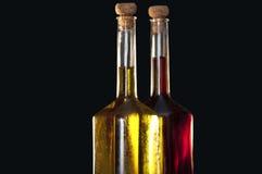 oljeolivgrönvinäger arkivfoto
