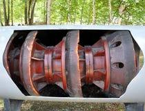 oljepigpipeline Royaltyfri Fotografi