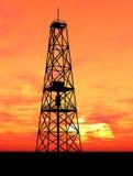 oljeplattform Arkivfoton