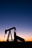 Oljeplattform Arkivbild